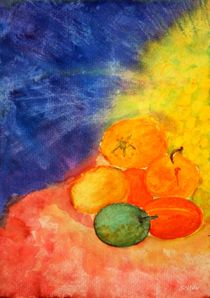 Aquarell Früchte  von soltau