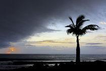 Sonnenaufgang und Sturm