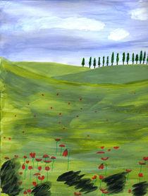 Toskana by Hildegard Fatahtouii