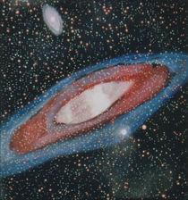 Roter Andromedanebel by Hildegard Fatahtouii