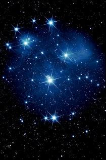 Siebengestirn-Plejaden-M 45-Pleiades von monarch