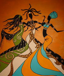 Afro Women by kharina plöger