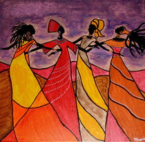 Afro Dancing Queen von kharina plöger