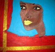 Afro Queen Türkis by kharina plöger