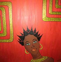 Black Woman Nandi  by kharina plöger