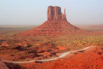 Bizzare rote bis goldene Felsen - Monument Valley in den USA von mellieha