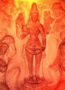 Relief im Tempelstadt Tamil Nadu, Südindien by mellieha