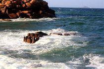 Steinkreise an der bretonische Küste in Frankreich by Marita Zacharias
