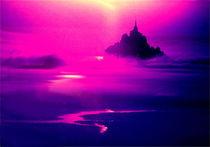 Mystische Mont Saint Michel in der Normandie, Frankreich von mellieha