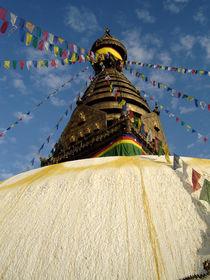 Stupa Swayambunath von littlepeak