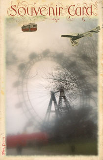 GIANT FERRIS WHEEL SOUVENIR CARD by photofiction
