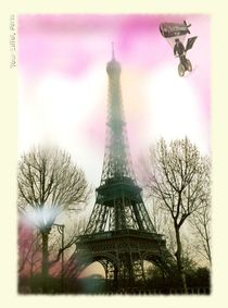 TOUR EIFFEL SOUVENIR CARD by photofiction