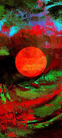 Abstrakter Mond von Matthias Rehme