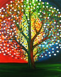 Glow Tree by anel