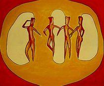 Dancing Cavemen by anel