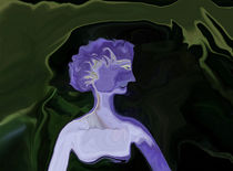 Fräulein Lila hat nachts Angst im Garten von Diana vonBohlen