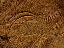 Holz - Sägespuren von Beatrice Mock