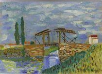 die Brücke von Anglois by manfred richter