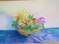Blumenkorb by Eva Jacqueline Weniger