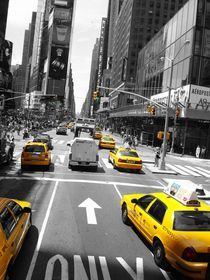 NYC Cabs by cibella