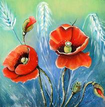 Mohnblumen   von Irena Scholz