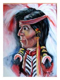 Indianer von Irena Scholz