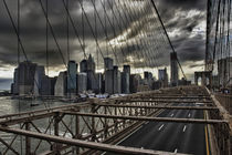 Clouds over Manhattan by Andreas Freund