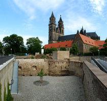 Magdeburg mit Festungsanlage Cleve von magdeburgerin