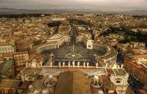 Blick vom Vatikan in Rom by magdeburgerin