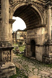 Forum Romanum in Rom von magdeburgerin