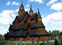 Norwegen - Stabkirche Heddal by magdeburgerin