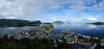 Norwegen - Blick auf Alesund vom Aksla von magdeburgerin