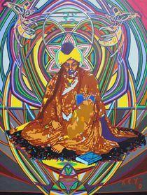 jalal ad-din rumi - 2010 von karmym