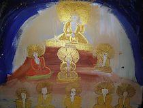 Buddha mit Gefolge von kunstmkm