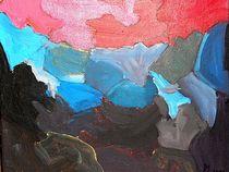 Aufsteigende Lava von kunstmkm
