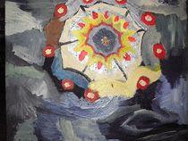 Großes Mandala von kunstmkm
