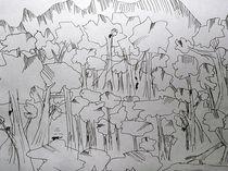 Affen im Dschungel von kunstmkm