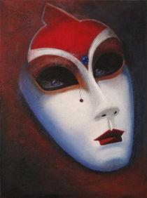 Venezianische Maske II by Barbara Vapenik