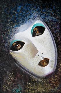 Venezianische Maske by Barbara Vapenik