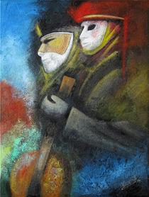Veneziansche Masken by Barbara Vapenik