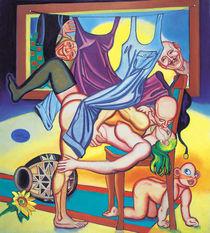 Familienleben. Kulmination by Oleg Tchebunin