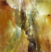 Komposition in grün und braun by Annette Schmucker