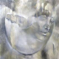 Portrait und Eierschale von Annette Schmucker