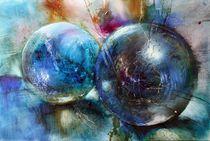 Blaue Murmeln by Annette Schmucker