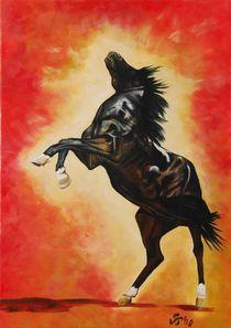 Pferd by Gabriele Schilling