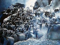 Wasserbüffel by Gabriele Schilling