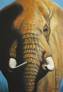 Elefant von Gabriele Schilling