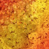 Retro-Tapete von yellowbird
