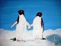Pinguine by Bärbel Knees