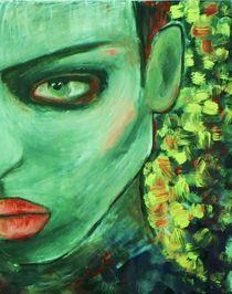 Portrait, grüne Frau,Fantasy von nike